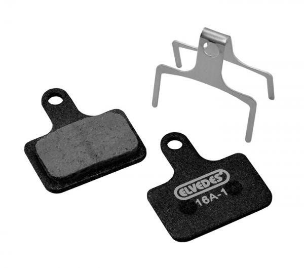 BI00107 (6907 MC Card) - Pastiglia per E-Bike Compatible Shimano, Tektro, Trp ( Metallic Carbon Quality)