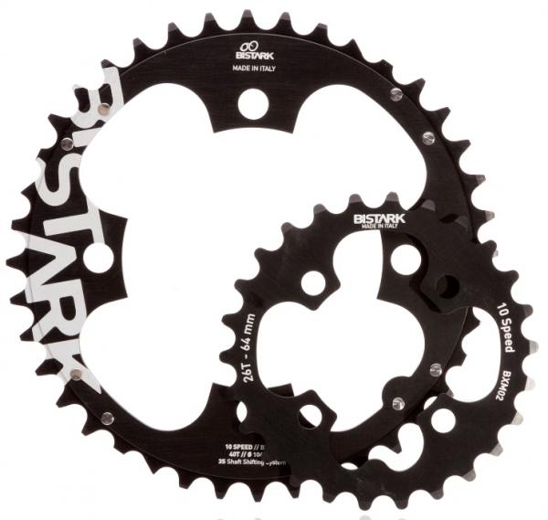 BOUBLE and TRIPLE MTB CHAINRINGS