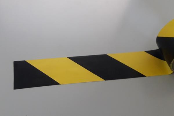 IMNASTROGN - RIBBON SAFETY STOP 33 metri - Bobina Nastro ADESIVO Delimitante 33 m